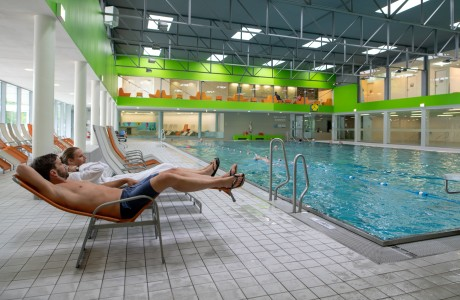 Hallenbad in der Wellnessoase Hummelhof