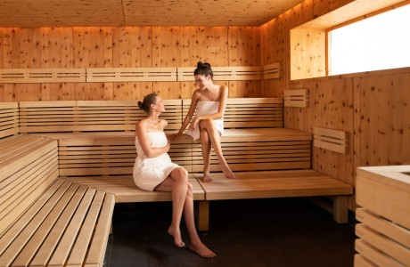 Saunieren in der Wellnessoase Hummelhof