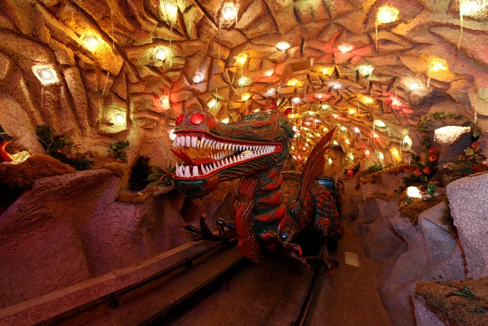 Fairy tale land in the Grottenbahn