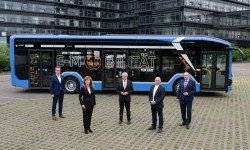 E-Bus-Test in Linz
